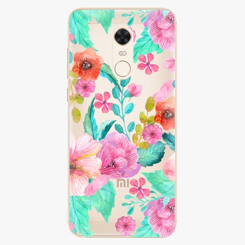 Plastový kryt iSaprio - Flower Pattern 01 - Xiaomi Redmi 5 Plus