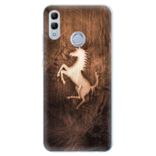 Odolné silikonové pouzdro iSaprio - Vintage Horse - Huawei Honor 10 Lite