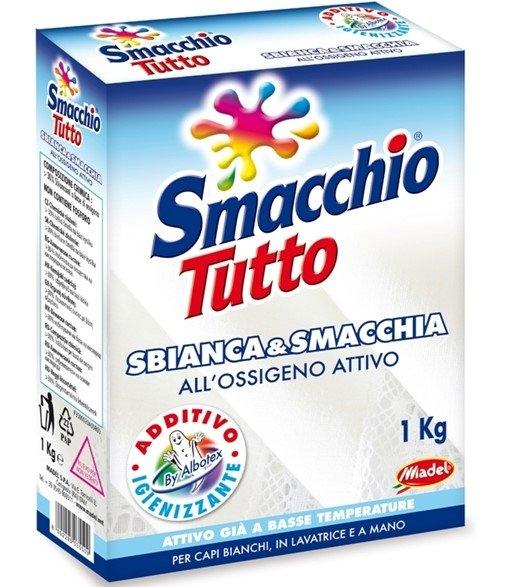 Smacchio Tutto Sypký odstraňovač skvrna s bělícím účinkem 1kg