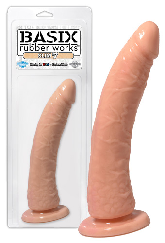 Tělový úzký masturbátor Basix Rubber Works