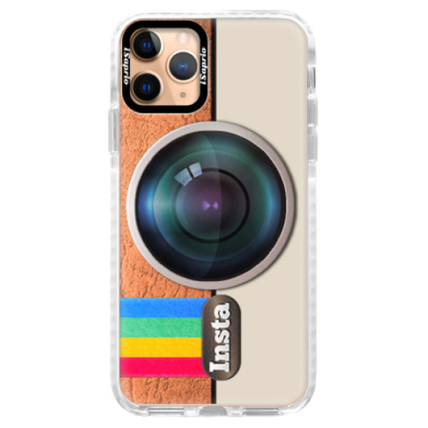 Silikonové pouzdro Bumper iSaprio - Insta - iPhone 11 Pro