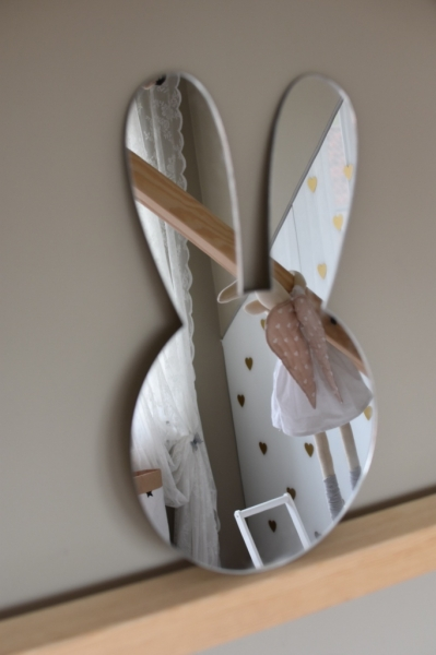 Zrcadlo Metoo na zeď - Králiček