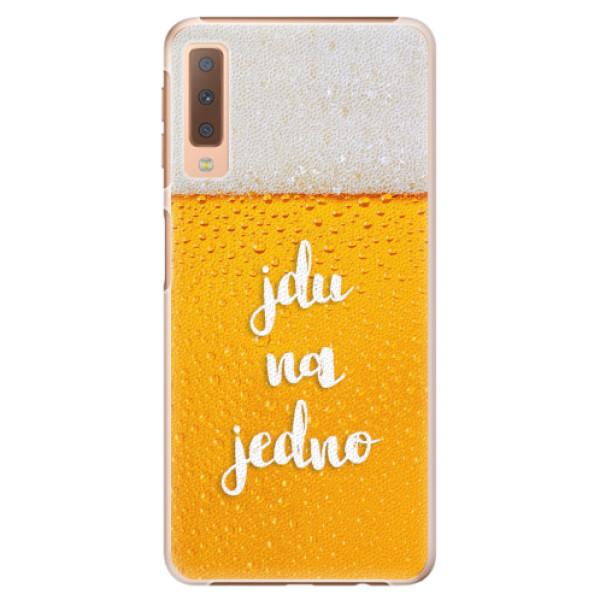 Plastové pouzdro iSaprio - Jdu na jedno - Samsung Galaxy A7 (2018)