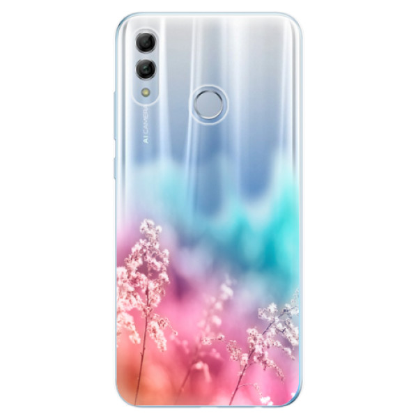 Odolné silikonové pouzdro iSaprio - Rainbow Grass - Huawei Honor 10 Lite