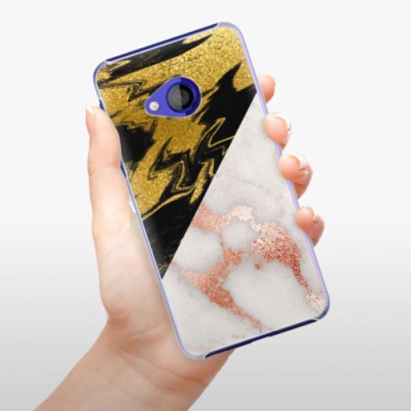 Plastové pouzdro iSaprio - Shining Marble - HTC U Play