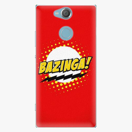 Plastový kryt iSaprio - Bazinga 01 - Sony Xperia XA2