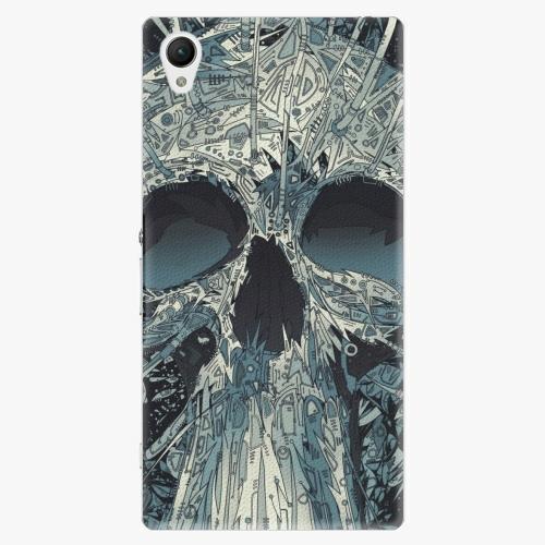 Plastový kryt iSaprio - Abstract Skull - Sony Xperia Z1