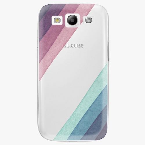 Plastový kryt iSaprio - Glitter Stripes 01 - Samsung Galaxy S3