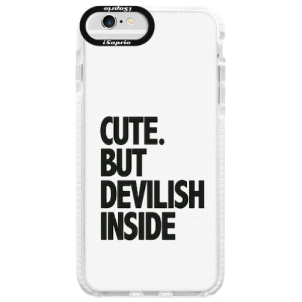 Silikonové pouzdro Bumper iSaprio - Devilish inside - iPhone 6/6S