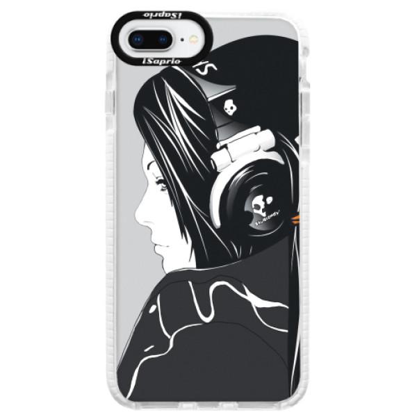 Silikonové pouzdro Bumper iSaprio - Headphones - iPhone 8 Plus