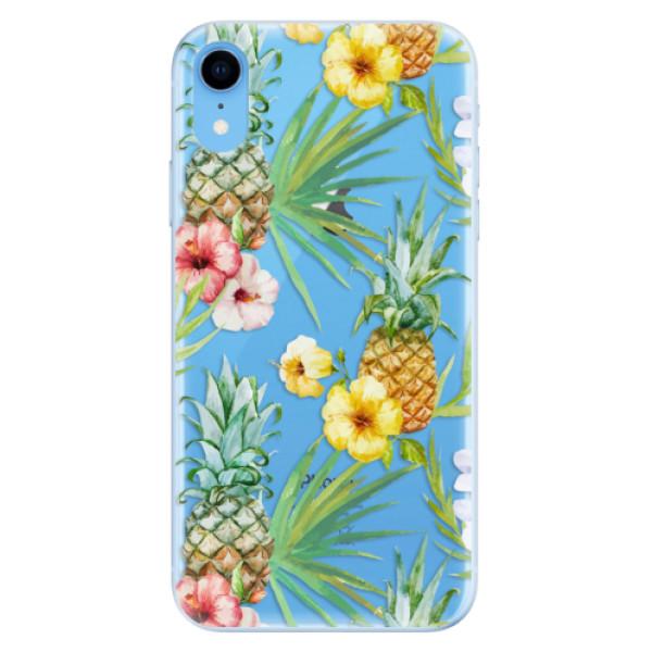 Odolné silikonové pouzdro iSaprio - Pineapple Pattern 02 - iPhone XR