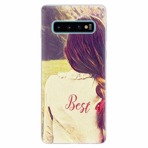 Silikonové pouzdro iSaprio - BF Best - Samsung Galaxy S10