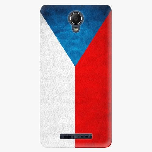 Plastový kryt iSaprio - Czech Flag - Xiaomi Redmi Note 2