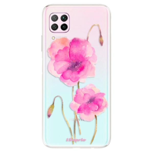 Odolné silikonové pouzdro iSaprio - Poppies 02 - Huawei P40 Lite