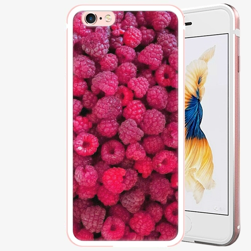Plastový kryt iSaprio - Raspberry - iPhone 6 Plus/6S Plus - Rose Gold