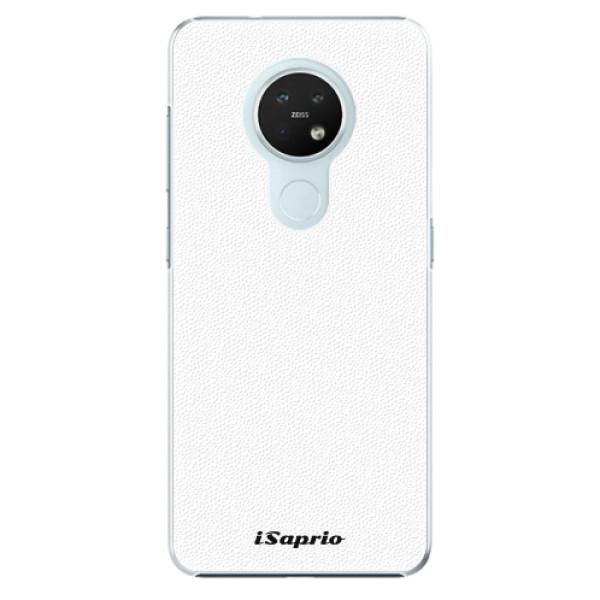 Plastové pouzdro iSaprio - 4Pure - bílý - Nokia 7.2