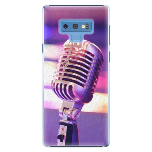Plastové pouzdro iSaprio - Vintage Microphone - Samsung Galaxy Note 9