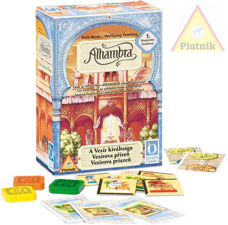 PIATNIK Hra Alhambra - Vezírova přízeň (1.rozšíření)