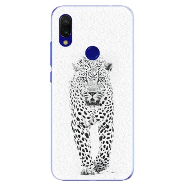 Plastové pouzdro iSaprio - White Jaguar - Xiaomi Redmi 7