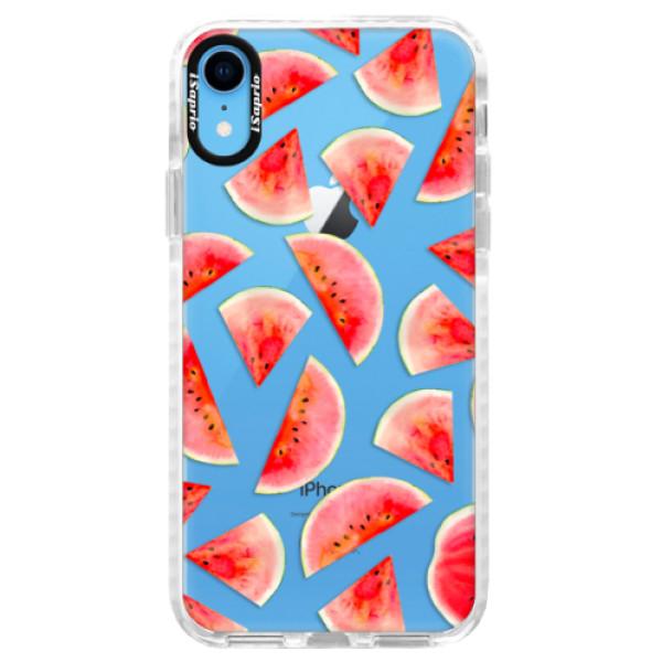 Silikonové pouzdro Bumper iSaprio - Melon Pattern 02 - iPhone XR