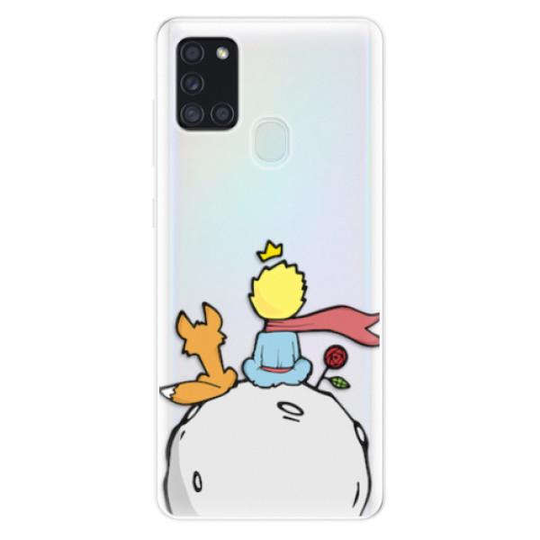 Odolné silikonové pouzdro iSaprio - Prince - Samsung Galaxy A21s