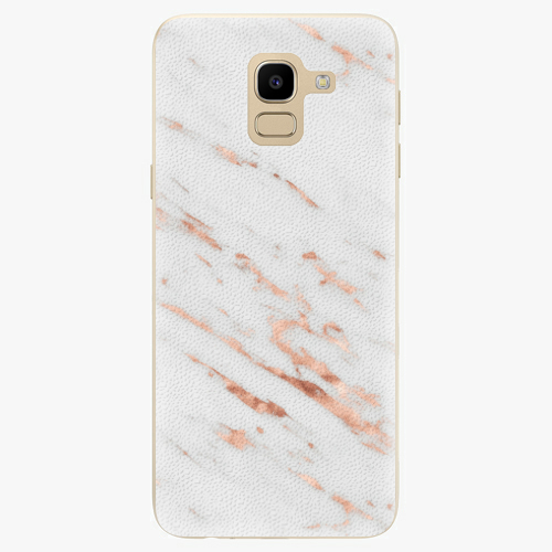 Rose Gold Marble   Samsung Galaxy J6