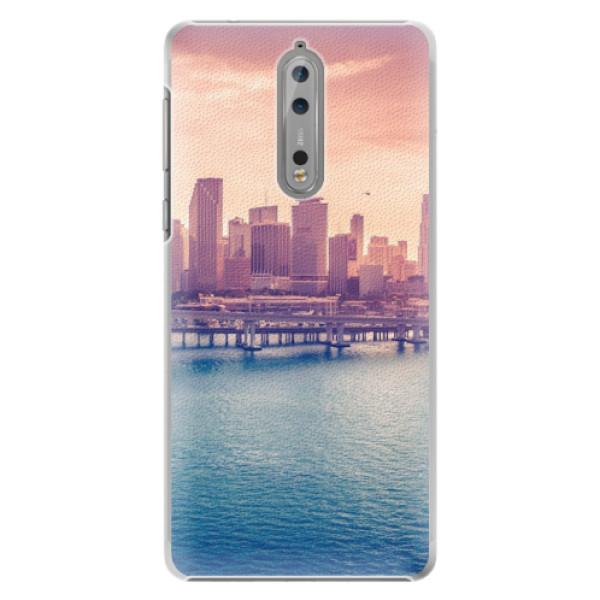 Plastové pouzdro iSaprio - Morning in a City - Nokia 8