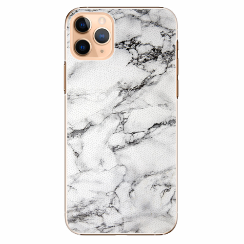 Plastový kryt iSaprio - White Marble 01 - iPhone 11 Pro Max