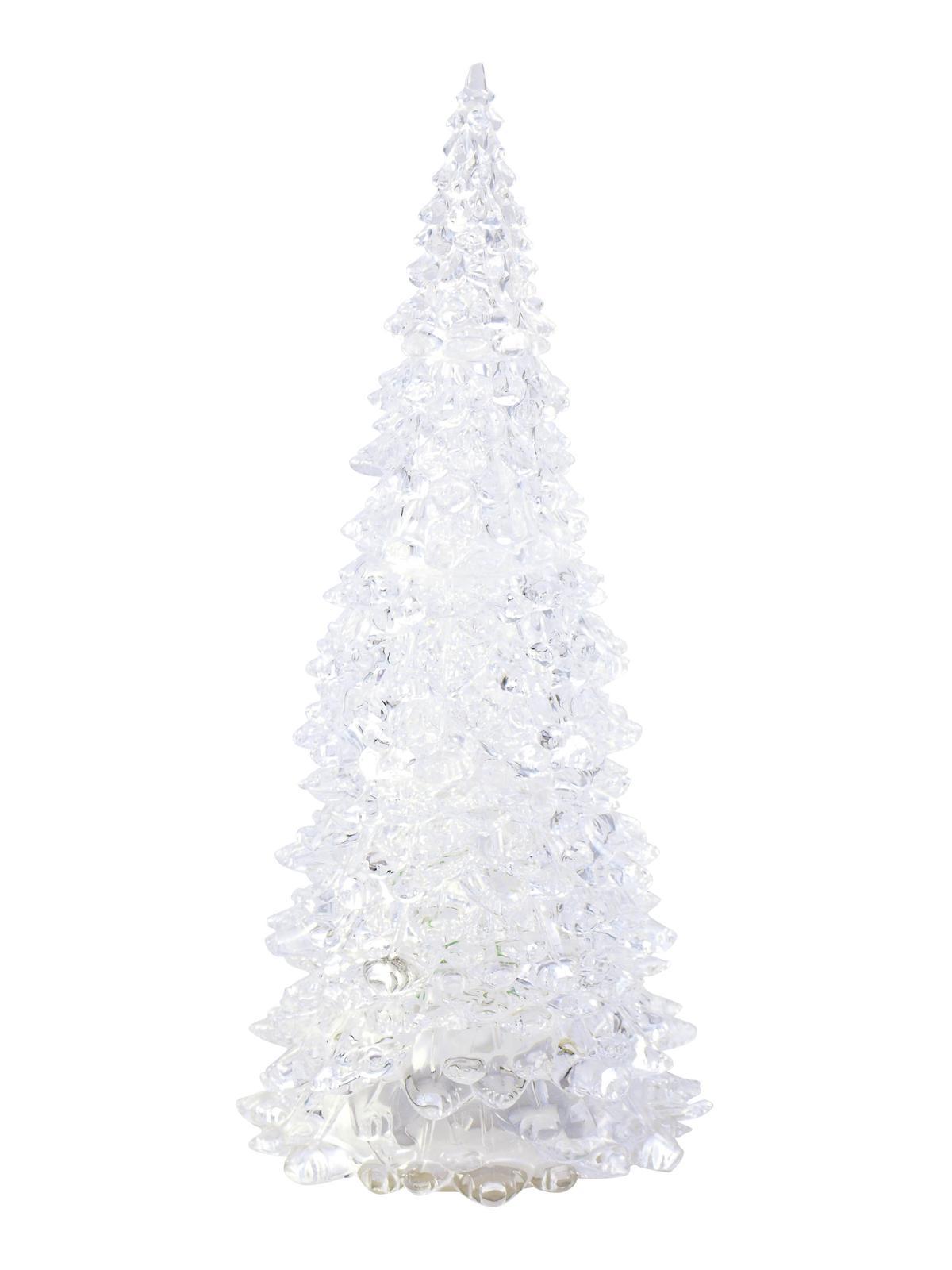 LED umělý vánoční stromek velký, 28 cm