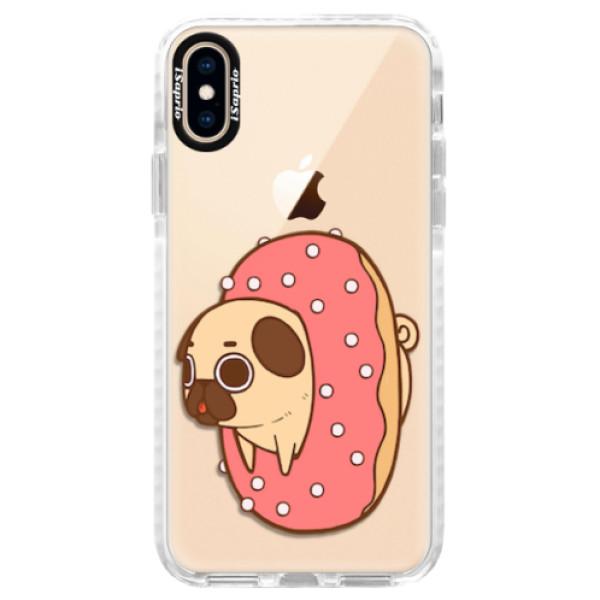 Silikonové pouzdro Bumper iSaprio - Dog 04 - iPhone XS