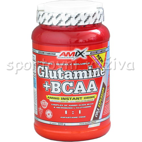 L-Glutamine + BCAA - 1000g-natural
