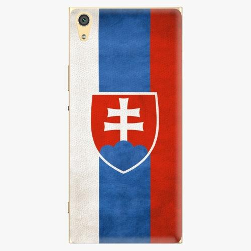 Plastový kryt iSaprio - Slovakia Flag - Sony Xperia XA1 Ultra