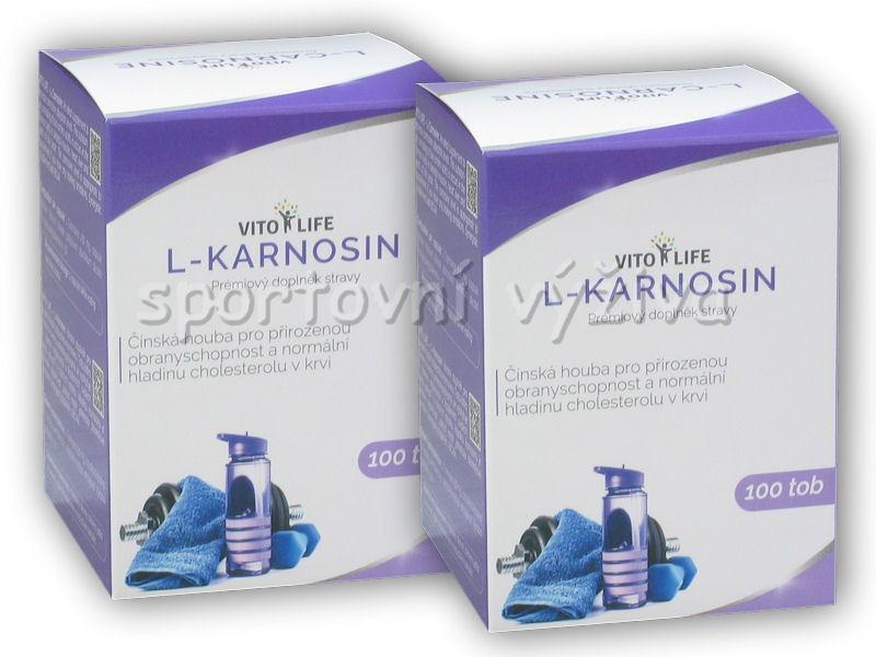 2x L-Karnosin 230mg 100 kapslí