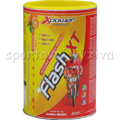 Xpower Flash XT Isotonic energy drink - 500g-lemon