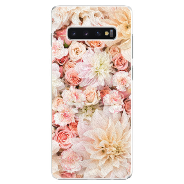 Plastové pouzdro iSaprio - Flower Pattern 06 - Samsung Galaxy S10+
