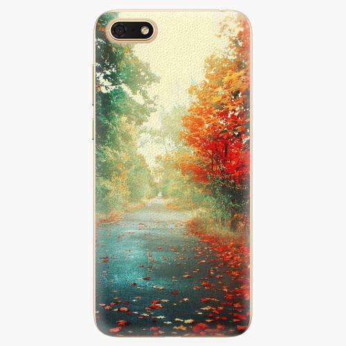 Plastový kryt iSaprio - Autumn 03 - Huawei Honor 7S