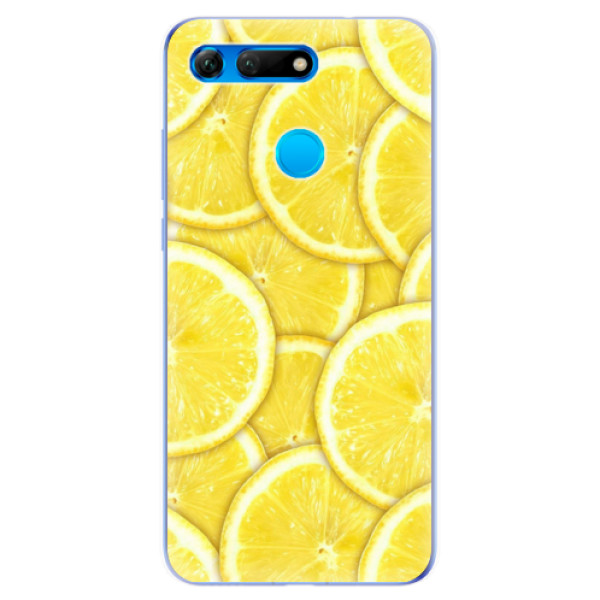 Odolné silikonové pouzdro iSaprio - Yellow - Huawei Honor View 20