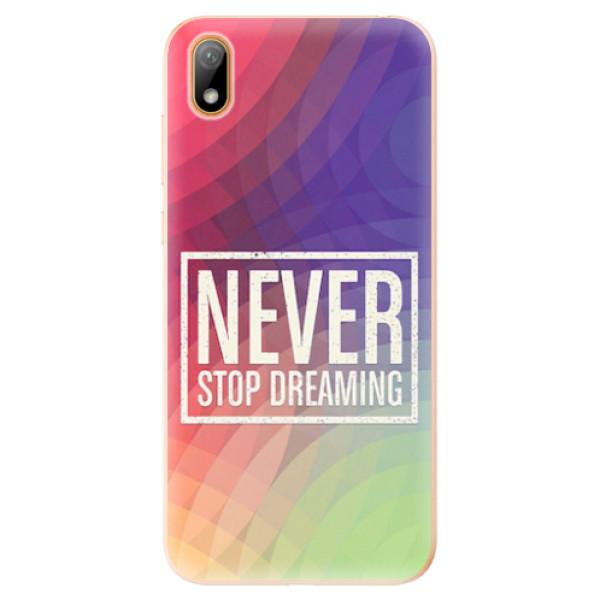 Odolné silikonové pouzdro iSaprio - Dreaming - Huawei Y5 2019