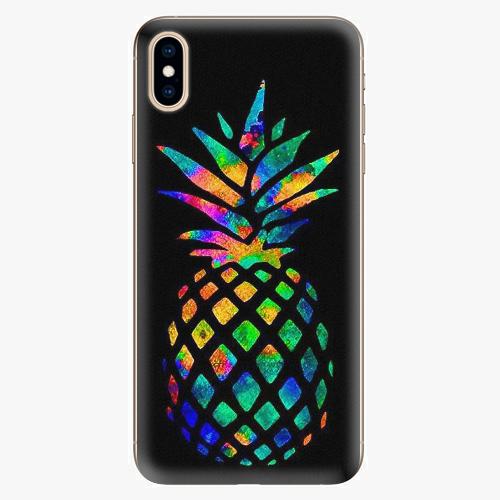 Plastový kryt iSaprio - Rainbow Pineapple - iPhone XS Max
