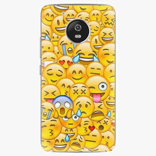 Plastový kryt iSaprio - Emoji - Lenovo Moto G5