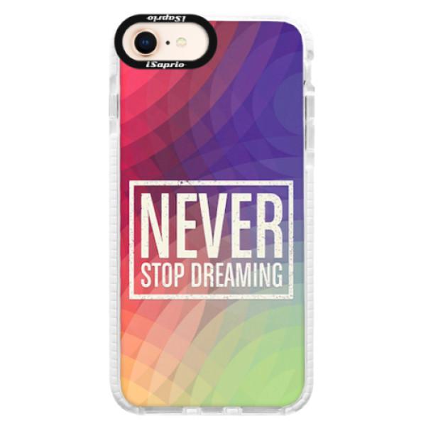 Silikonové pouzdro Bumper iSaprio - Dreaming - iPhone 8