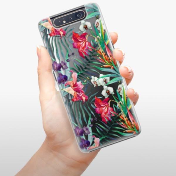 Plastové pouzdro iSaprio - Flower Pattern 03 - Samsung Galaxy A80