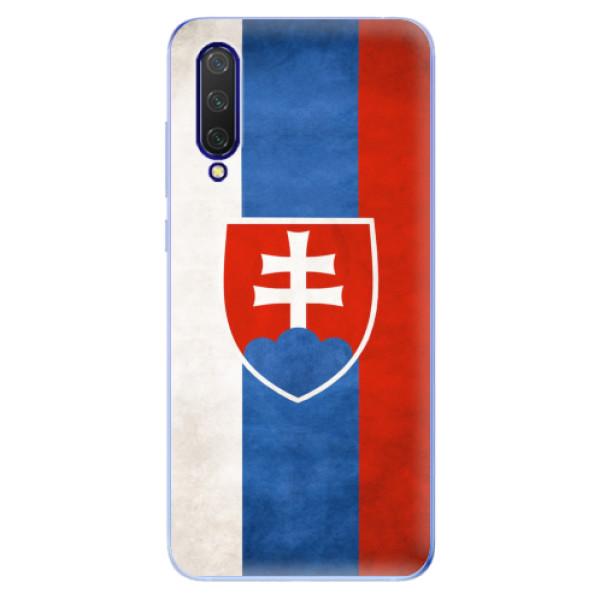 Odolné silikonové pouzdro iSaprio - Slovakia Flag - Xiaomi Mi 9 Lite