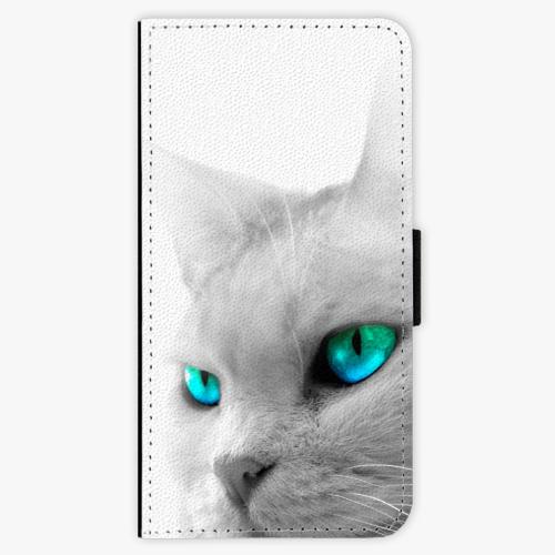 Flipové pouzdro iSaprio - Cats Eyes - Lenovo Moto G5 Plus