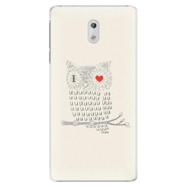 Plastové pouzdro iSaprio - I Love You 01 - Nokia 3