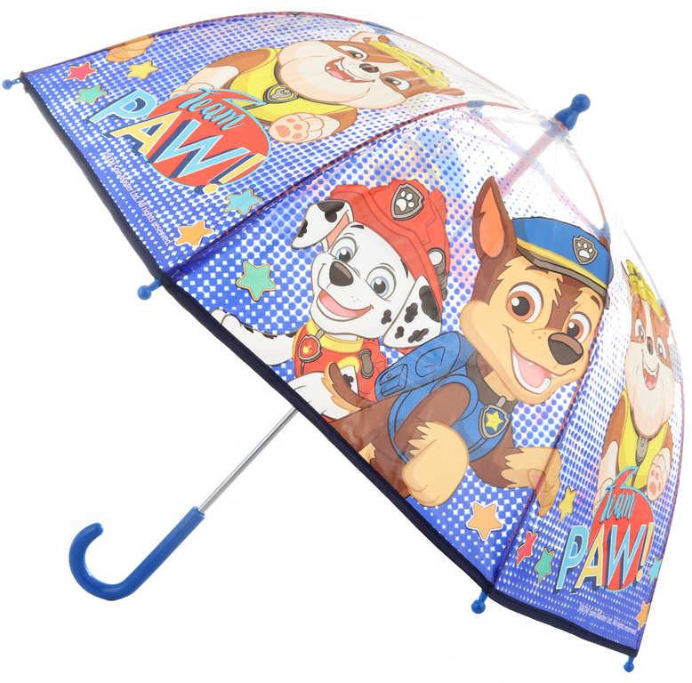 Deštník dětský Tlapková Patrola (Paw Patrol) 72x72x64cm manuální