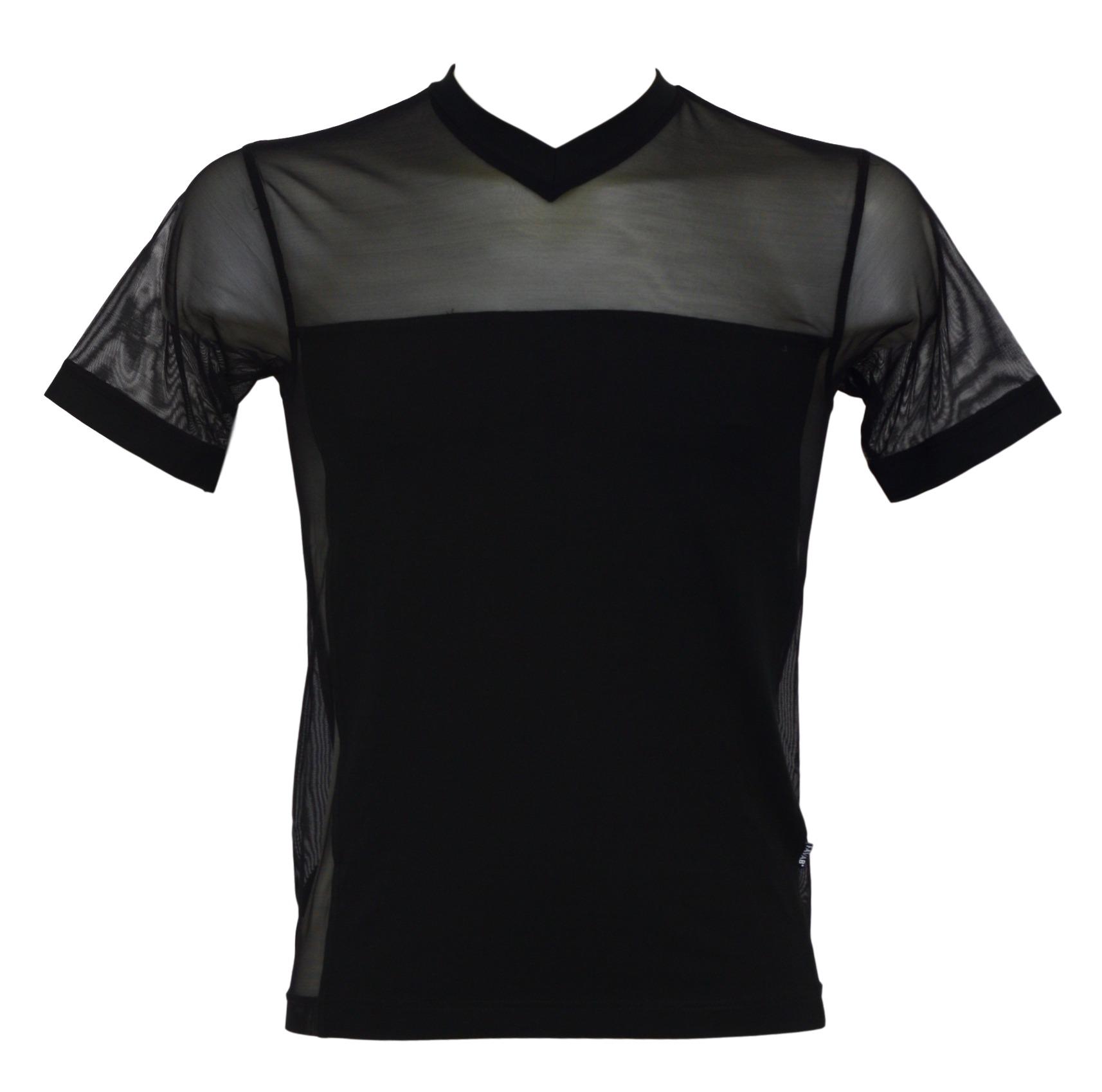 Pánské triko Valentinos - Favab - Černá/M
