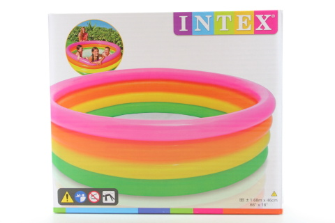 INTEX Bazén barevný 168 x 46 cm 56441