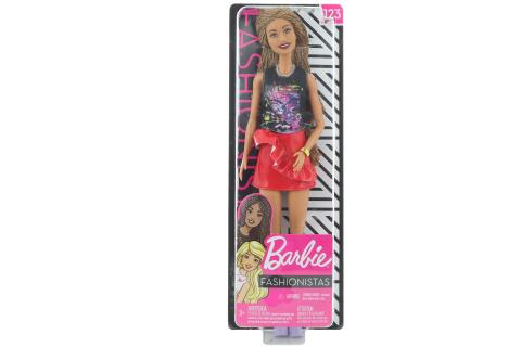 Barbie Modelka 123 - Rockový styl