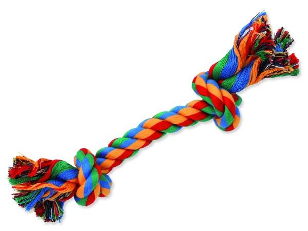 Uzel DOG FANTASY bavlněný barevný 2 knoty 20 cm